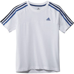 Adidas Boys Essentials 3-Stripes Crew Tee