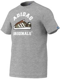 Adidas Camo Graphic Tee