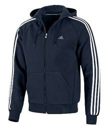 Adidas Ess 3S FZ Hood Jkt