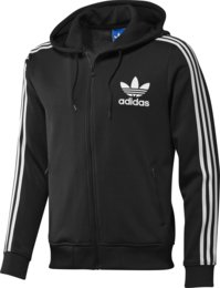 Adidas Adi Hooded Flock Track Top Man