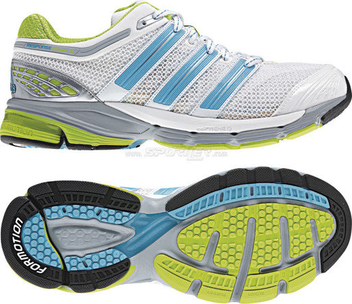 Adidas Response Cushion W's , Colore: White/Turquoise acquista in Online Shop Scarpe neutre  - Sportler