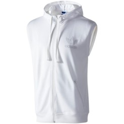Adidas Sleeveless Hooded Track