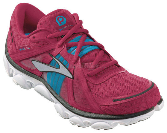 Brooks Pure Flow W's Fuchsia kaufen in Online Shop Schuhe Natural Running  - Sportler