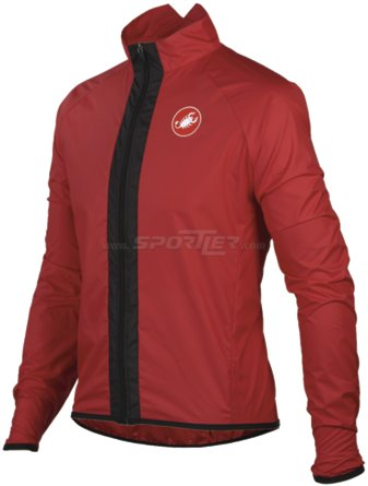 Castelli Velo Jacket Red kaufen in Online Shop Jacken  - Sportler