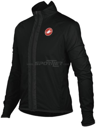 Castelli Velo Jacket Black kaufen in Online Shop Jacken  - Sportler
