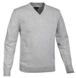 Docker's Cotton V-Neck Sweater