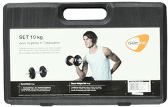 Get Fit 10 Kg Set + Plastic Box