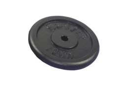 Get Fit Black Plate 1 x 10 kg