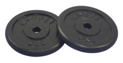 Get Fit Black Plate 2 x 5 kg