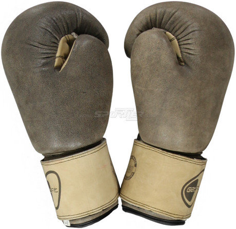 Get Fit Cowhide Boxing Gloves 10Z acquista in Online Shop Accessori box / arti marziali  - Sportler