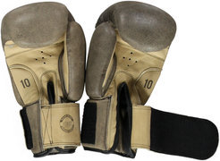 Get Fit Cowhide Boxing Gloves 10Z