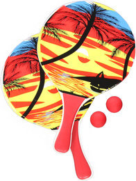 Hot Stuff Beach Racket Set