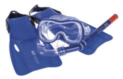 Hot Stuff Set Swim Mask + Snorkel + Fins
