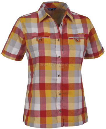 Meru Santorin Shirt S/S W's Red/Orange acquista in Online Shop  - Sportler