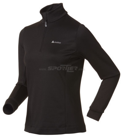 Odlo Stand-up collar 1/2 zip Sugar Bowl Black kaufen in Online Shop Pullover  - Sportler