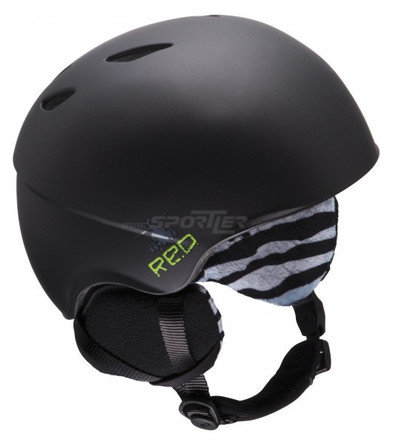 Red Youth Hi-Fi Helmet , Farbe: Black kaufen in Online Shop Helme / Protektoren / Brillen  - Sportler