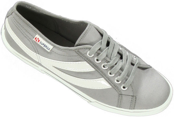 Superga 2951 Light Light Grey/White front acquista in Online Shop Scarpe casual & sandali  - Sportler