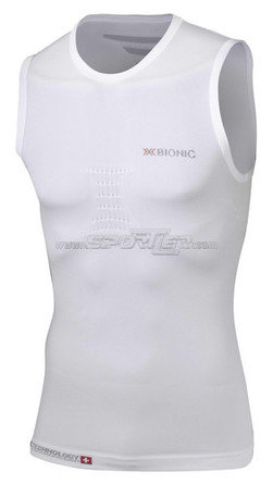 X-Bionic Running Speed Singlet White/Pearl Grey kaufen in Online Shop Running Bekleidung  - Sportler