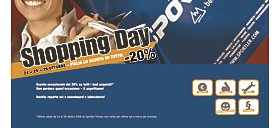 Shopping Days con sconti di 20 % su tutto a Sportler Treviso