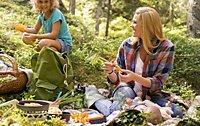 Campingtöpfe und Pfannen