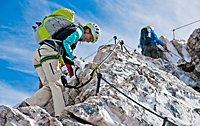 Neue Klettersteigsets