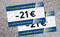 HALF MARATHON BONUS -21€