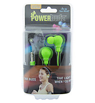 4id PowerBudz auricolari LED, Green