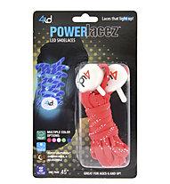 4id PowerLacez - Schuhbänder mit LEDs, Red