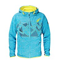 ABK Cham Crag - giacca in pile - uomo, Blue