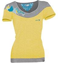 ABK Citrine Tee Damen Kletter- und Boulder T-Shirt, Yellow