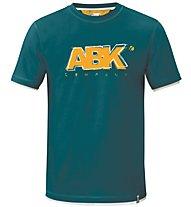 ABK Goody Tee Herren Kletter- und Bouldershirt Kurzarm, Blue