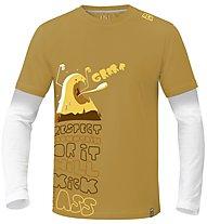ABK Grrr - Kletter T-Shirt - Herren, Yellow