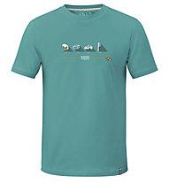 ABK Maki Agate - T-shirt arrampicata - uomo, Green