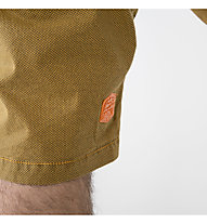 ABK Rock Face - pantalone corto arrampicata - uomo, Yellow