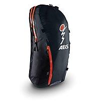 ABS Vario Ultralight 18 - Zaino airbag, Black/Orange