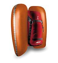 ABS Vario 30 - zaino Zip On airbag, Red/Grey
