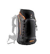 ABS Vario 30 - Zip On Rucksack, Black/Orange