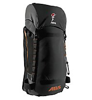 ABS Vario 40 Zaino Freeride, Black/Orange