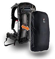 ABS Vario Base + Steel cartridge - Lawinenrucksack, Black