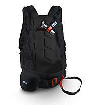 ABS Vario Base Unit Classic+Zip-On 8 - zaino airbag, Black