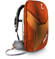 ABS Vario Base Unit Classic+Zip-On 8 - ABS Rucksack, Grey/Orange