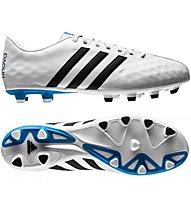 Adidas 11 Nova FG - scarpa da calcio, White/Black