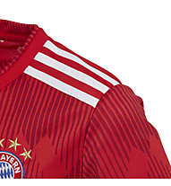 adidas 18/19 FC Bayern Home Jersey Junior - Fußballtrikot - Kinder, Red