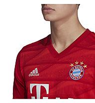 adidas 19/20 FC Bayern Home Jersey - Fußballtrikot - Herren, Red
