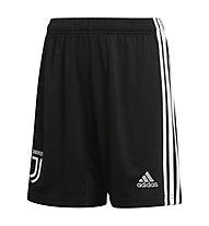 adidas 19/20 Juventus Home Short Youth - pantaloni calcio - bambino, Black/White