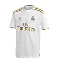 adidas 19/20 Real Madrid Home Jersey Youth - Fußballtrikot - Jungen, White