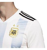 adidas 2018 Home Replica Argentina - maglia calcio - uomo, White/Light Blue