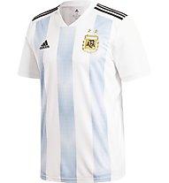 Adidas 2018 Home Replica Argentina Kid's - maglia calcio - bambino, White/Light Blue
