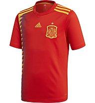 Adidas 2018 Home Replica Spagna Kid's - maglia calcio - bambino, Red/Gold