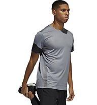 adidas 25/7 Runr Parley - Laufshirt - Herren, Grey